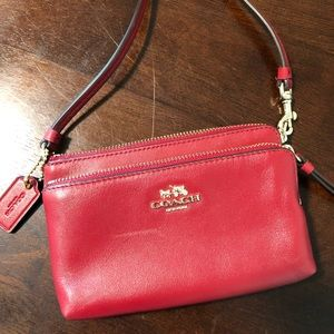Coach Madison leather Double Zip Wristlet, 51928